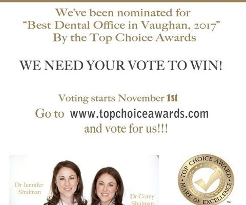 WE NEED YOUR VOTE TO WIN!
